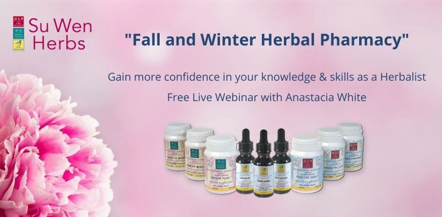'Fall and Winter Herbal Pharmacy' Free Live Webinar